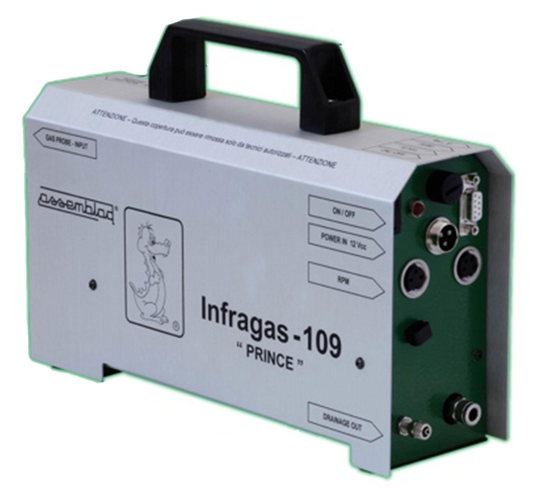 ANALIZADOR DE GASES DE ESCAPE INFRAGAS – 109