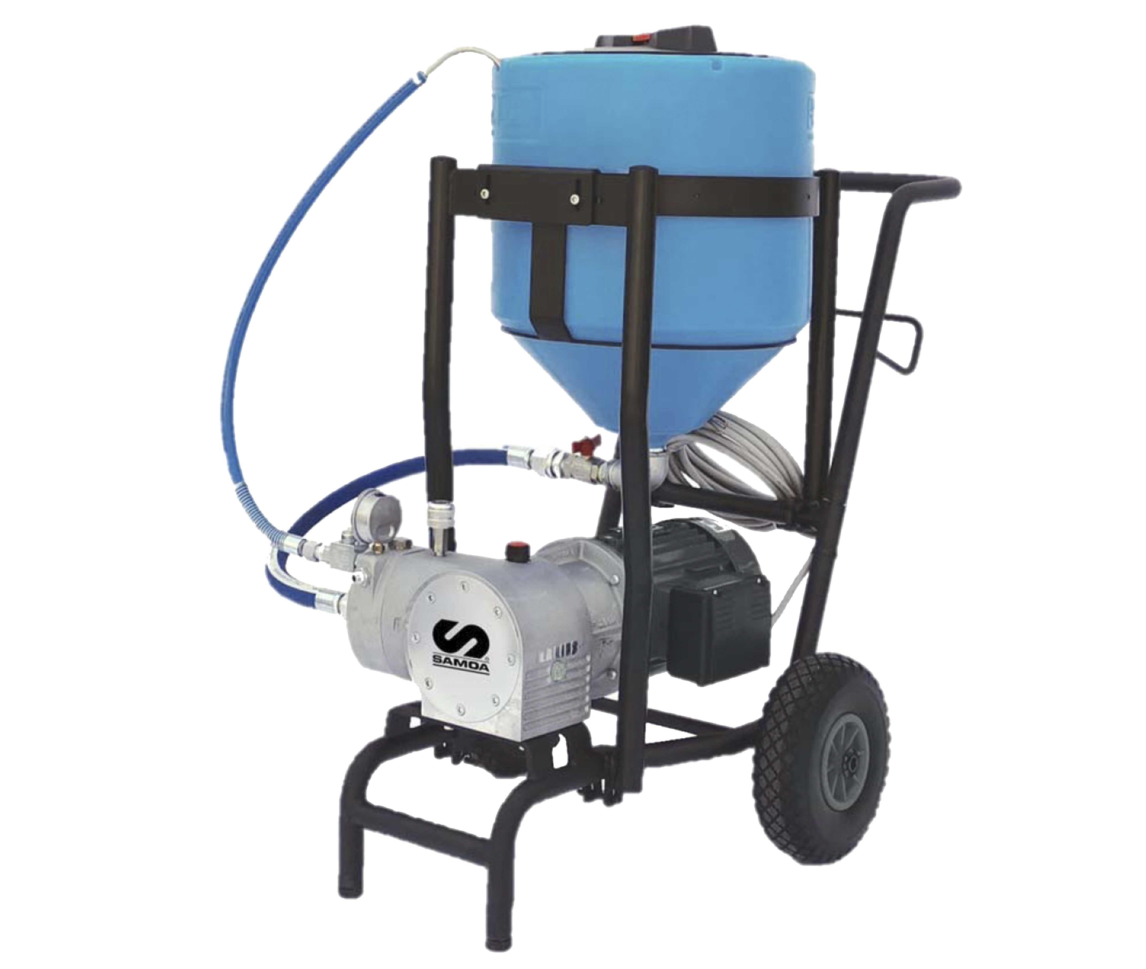 Equipo para la pulverización de desinfectante